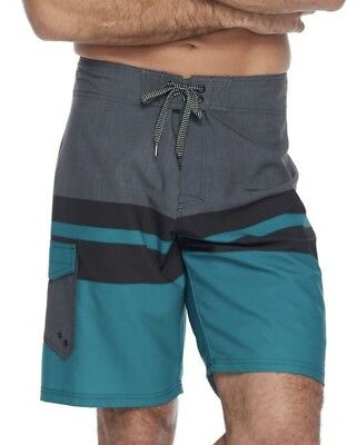 d5292f0d6a NWT Ocean Current Men's Stretch Board Shorts Swim Trunks EMERALD Size 28