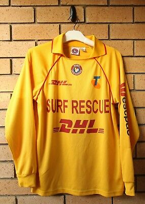 Surf Rescue Life Saving Men's Long Sleeve Top Size Small