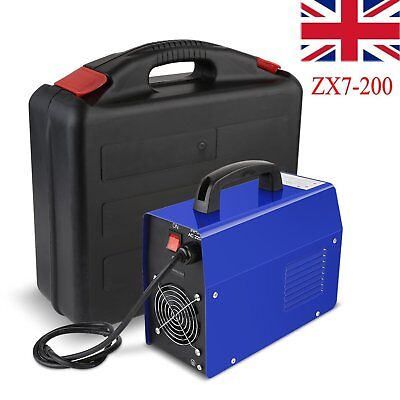 200AMP Welding Inverter Machine MMA/ARC Household Welder ZX7-200 IGBT+Carry Case