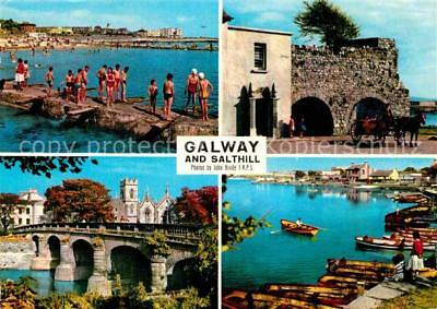 72801919 Galway Galway and Salthill Beach Bridge Harbour Galway
