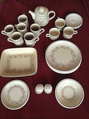 BHS Vintage Country Garland Tableware / Tea-set / Cookware Set - 30 pieces : bhs tableware - pezcame.com