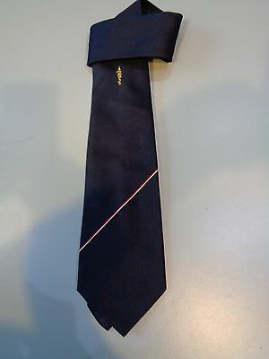Vintage Tie Peter K Arrow And Snake Navy Blue Wedding Party Prom Festival