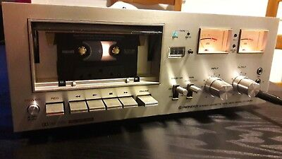 Pioneer CT-F6060 Stereo Cassette Tape Deck (1976-78)