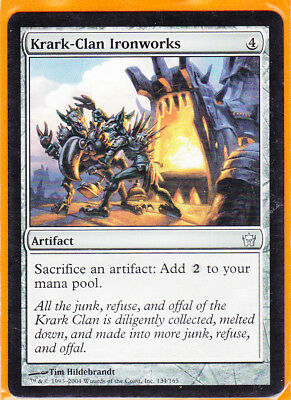 MTG Magic Fifth (5th) Dawn 1 x KRARK-CLAN IRONWORKS Uncommon card  Never played