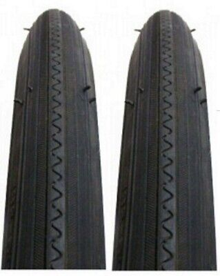 Two New Duro Green Stripe Road Bicycle Tires 27 X 1-1//4 ISO 32-630