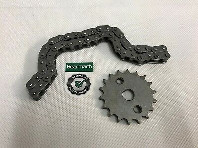 Bearmach Land Rover Defender & Disco TD5 Oil Pump Chain & Sprocket Kit LQX100130