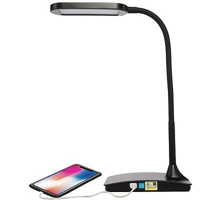 LED Desk Lamp with USB Port Touch Sensor Switch, 3 Level Dimmer College Student
