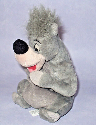 "Disney's Jungle Book 10"" Baloo Bear Beanie Plush Soft Toy Disney Parks Store Toy"