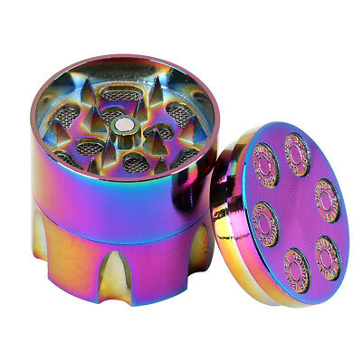 3 Layers Tobacco Herb Spice Grinder Herbal Alloy Smoke Metal Chromium Crusher js