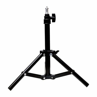 "Table Top 49cm 19"" Collapsible Mini Light Stand Tripod for Studio Lighting Flash"