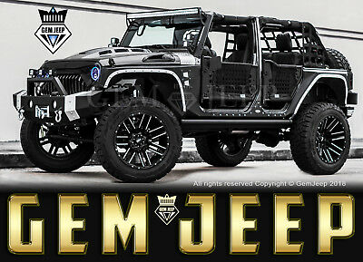 2017 Jeep Wrangler Fully Customized Unlimited Sport Utility 4-Door Custom Jeep - 2017 Jeep Wrangler Unlimited Sport -  LIFTED - Custom Interior