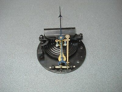 """Large Aneroid Barometer Movement & Pointer For 8"""" Dia Dial Parts Spares"""