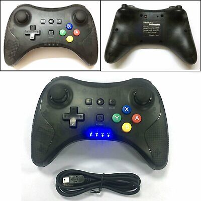 Wireless Bluetooth Gamepad Joystick Remote Controller Für Nintendo Wii U Konsole