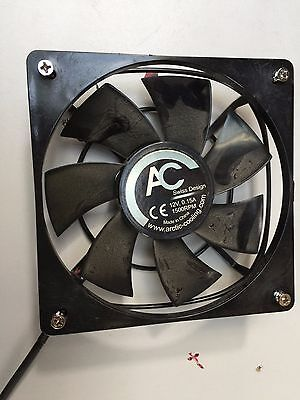 12 Arctic Fan AC Swiss Design 12V 0.15A 1500RPM