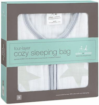 Aden + Anais MULTI-LAYER SLEEPING BAG TWINKLE (L) Baby Bedding BNIP