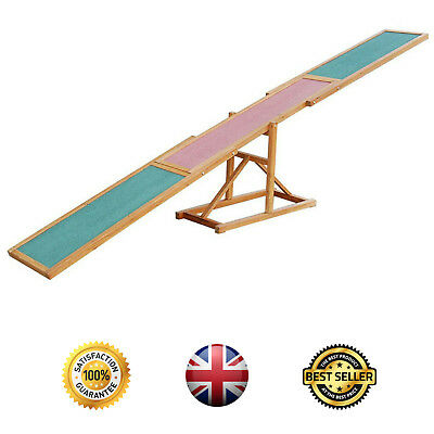 Dog Pet Training Pawhut Seesaw Agility Obedience Equipment 3m 10 Feet Long