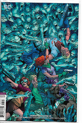 Scooby Apocalypse #25 cover B - Death of Fred - 1st Print! Bagged & Boarded! DC