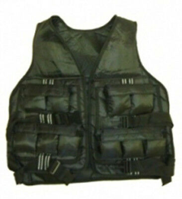 Ironman Adjustable 20lbs Weighted Vest Heavy Duty - FREE Postage UK Mainland