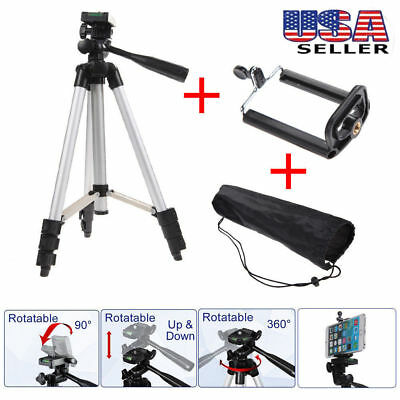 Professional Camera Tripod Stand Holder Mount for iPhone Samsung Cell Phone Bag