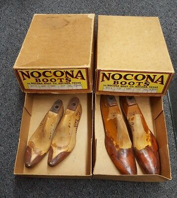 Vintage Nocona Boot Lasts With Certificate of Authenticity SELLING FAST!