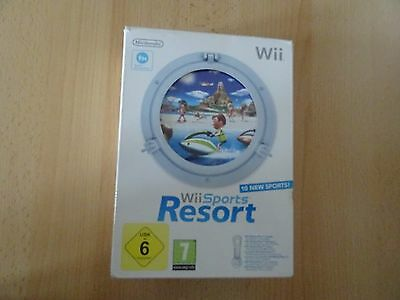 Nintendo Wii Sports Resort mit Wii Motion Plus Zubehör + Hülle PAL-Version