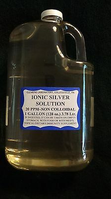 LAB GRADE, PURE IONIC SILVER SOLUTION FDA APPROVED LABELING and REGISTERED LICEN