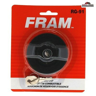 Fram Locking Gas / Fuel Cap ~ RG-91 ~ New