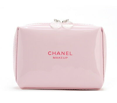 Chanel Beauty Makeup Gross Pink Bag Wallet Iphone Pouch Clutch VIP Gift