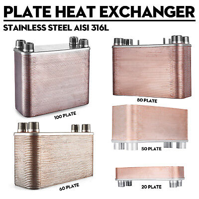 5x12'' Brazed 20/30/50/80/100 Plate Heat Exchanger Outdoor Wood Furnace[1''MPT]