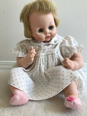 Vintage Madame Alexander Pussy Cat Baby Doll - 1965