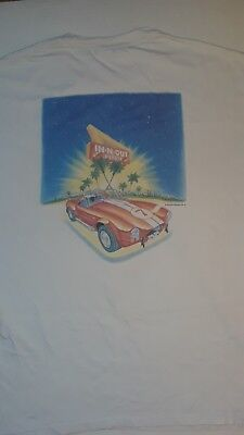 Rare Vintage 90s In & Out Burger Shelby Cobra GT Rider 97 Tee Shirt