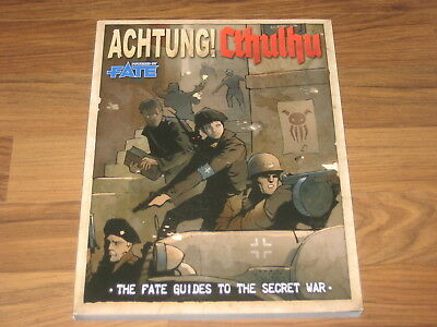 Achtung! Cthulhu Fate Guide to the Secret War SC Modiphius Entertainment