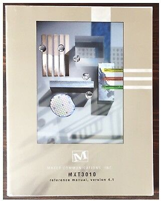 Maker Communications MXT3010 ATM Cell Processor Reference Manual 1999