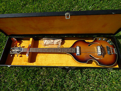 Rare   Vintage 1965 Klira Twen Star 162  Electric Bass Germany