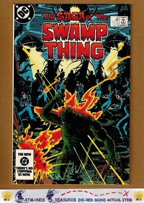 Swamp Thing #20 (9.4) NM 1st Alan Moore On Series 1984 Key issue