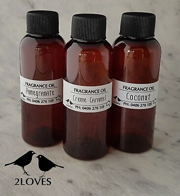 Top Quality Fragrance Oils - 100Mls - Candles, Melts, Oil Burners Free Post