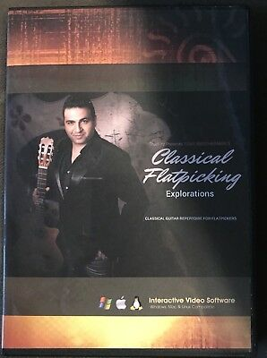 Tony Smotherman Classical Flatpicking Guitar Instructional Cd-Rom 'NEW RELEASE""