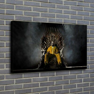 Game Of Thrones Breaking Bad HD Print On Canvas Home Decor Room Wall Art Picture