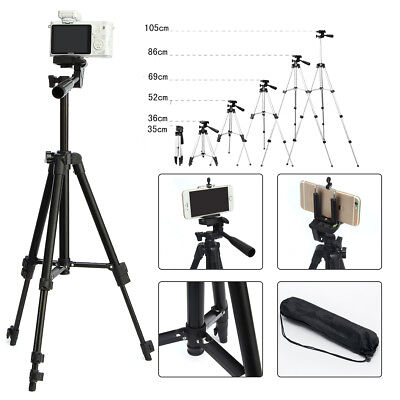 Professional Camera Tripod Stand Holder For Cell Smart Phone iPhone & Samsung
