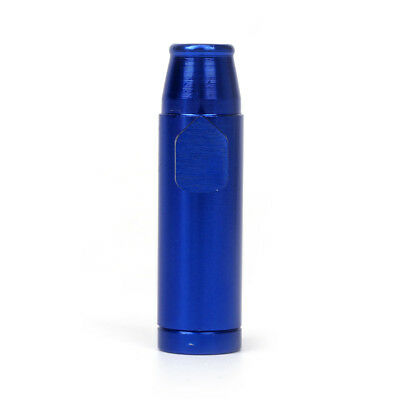 Good Quality Snuff Bullet Sniff Snorter Metal Sniffing Rocket Blue