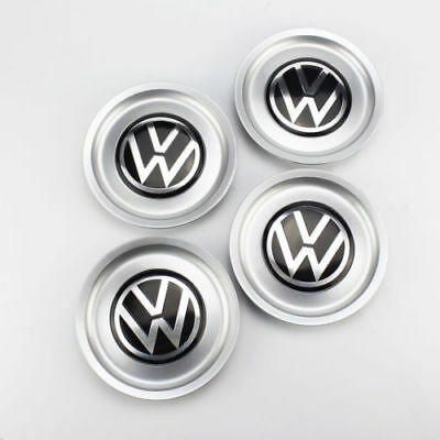 4PCS VW Logo Wheel Center Hub Rim Cap Cover 1J0601149B for Golf Jetta MK4