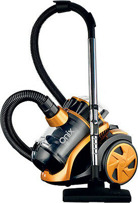 Brand New Onix Bgvac2000 Cyclonic Bagless Vacuum Cleaner Dust Canister Hepa 12