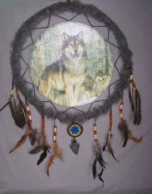 "Native Pride Tribal Handmade Dream Catchers - Diameter 13.5""  (NPDC223^*)"
