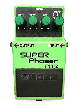 Boss PH-2, Super Phaser, Made In Japan, 1984, 1st YEAR PRODUCTION MODEL