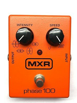 MXR M107, Phase 100, 4 Wave, Phaser, Guitar Effect Pedal