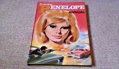 LADY PENELOPE ANNUAL 1st UK ONLY H/B 1967 Thunderbirds Gerry Anderson U.N.C.L.E.