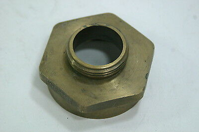 Dixon FM25F15F Hex Brass Adapter 2-1/2 NST Female X 1-1/2 NST Male