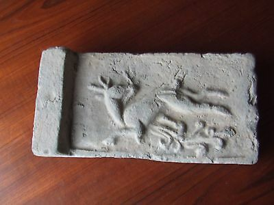 CHINA.   SUNG DYNASTY. 12th/13th CENTURY.   RARE.   CELESTRIAL DEER TILE.