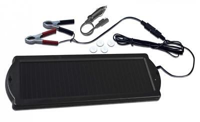 Visua Solar Powered Battery Charger. Ideal for Cars, Caravans and Boats (1.5...