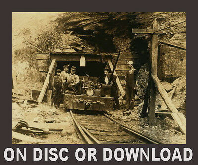 COAL MINING - Big Book Collection Scanned onto Disc or Download